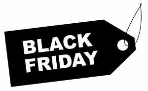 significado color negro black friday