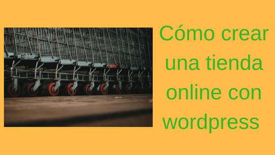 tienda wordpress