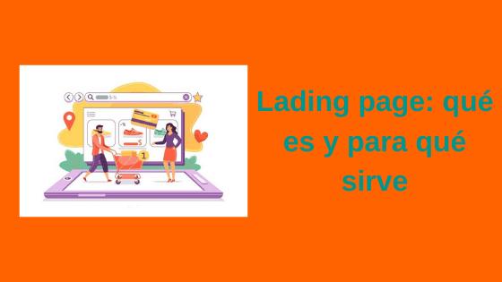 landing page qué es y para qué sirve